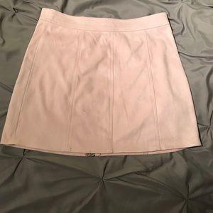 Light Pink Pencil Skirt